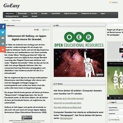 Öppna digitala lärresurser - OER - goeasy