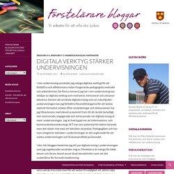 Digitala verktyg stärker undervisningen
