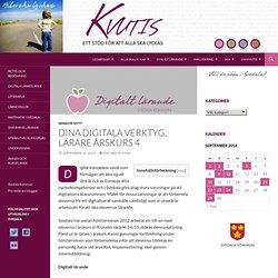 Dina digitala verktyg, lärare årskurs 4 - Kvutis