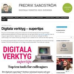 Digitala verktyg – supertips