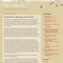 Google drive, Doctopus och Goobric