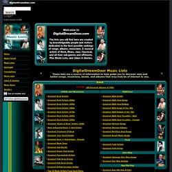 Main Music Page