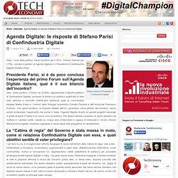 Le 10 risposte di Stefano Parisi di Confindustria Digitale