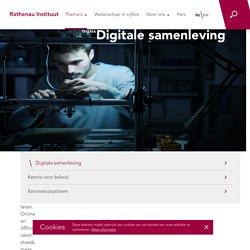 Rathenau Instituut: Digitale samenleving