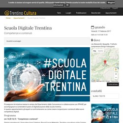 Scuola Digitale Trentina - Trentino Cultura