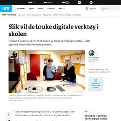 Slik vil de bruke digitale verktøy i skolen – NRK Finnmark