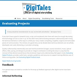 Digitales - Evaluating Projects