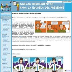 PIXTON: Creación de Cómics digitales - NUEVAS HERRAMIENTAS PARA LA ESCUELA DEL PRESENTE