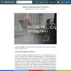 Digitales Marketing made in Österreich