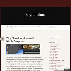 digitalfilms « a blog by Oliver Peters