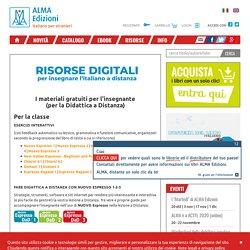risorse digitali per didattica a distanza - Alma Edizioni – Italiano per Stranieri