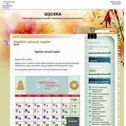 Digitális adventi naptár - QQCSKA