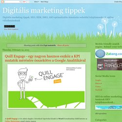Digitális marketing tippek: kpi mutatók