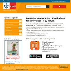 Digitális anyagok a Klett kiadó német tankönyveihez – egy helyen