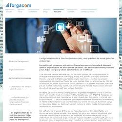 La digitalisation de la fonction commerciale, une question de survie pour les entreprises