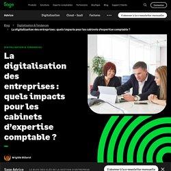 Digitalisation : impacts pour les cabinets comptables