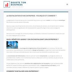 La digitalisation d'une entreprise : pourquoi et comment ? - BBDP