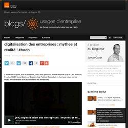 digitalisation des entreprises : mythes et réalité ! #hadn