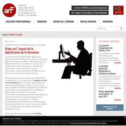 Etude sur l'impact de la digitalisation de la formation