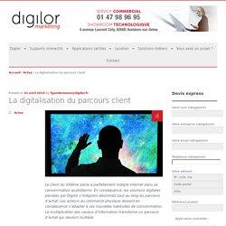 La digitalisation du parcours client
