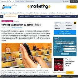 Vers une digitalisation du point de vente