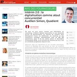 Intérim 2.0: la digitalisation comme atout concurrentielAurélien Simon, Quadient