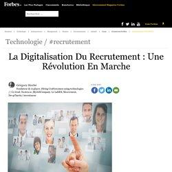 La digitalisation du recrutement : une révolution en marche