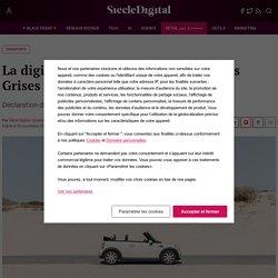 La digitalisation du Service des Cartes Grises par l'Etat
