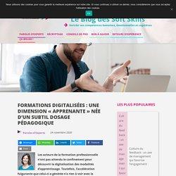 """Formations digitalisées """"apprenantes"""" : un subtil dosage pédagogique"""