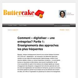 Comment «digitaliser» une entreprise? Partie 1: Enseignements des approches les plus fréquentes
