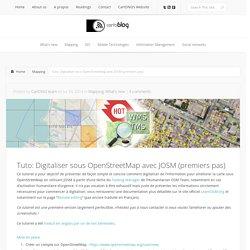 Tuto: Digitaliser sous OpenStreetMap avec JOSM (premiers pas)