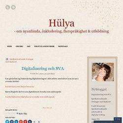 Digitalisering och SVA