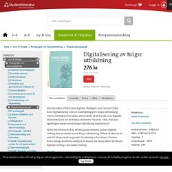 Digitalisering av högre utbildning (39820-01)