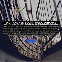 Suomen Digitalisoinnin Historia 1995–2015