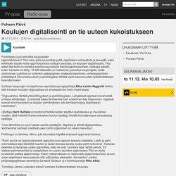 Koulujen digitalisointi on tie uuteen kukoistukseen