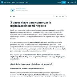 3 pasos clave para comenzar la digitalización de tú negocio: ext_5324331 — LiveJournal