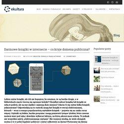 Darmowe książki w internecie - co kryje domena publiczna? - ekultura.org - wszystko o digitalizacji dziedzictwa kulturowego