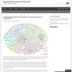 InfoRapid « Digitalized Documentation Research