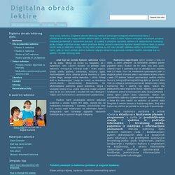 Digitalna obrada lektire
