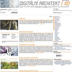 školy - Digitalni architekt - www.digiarch.cz