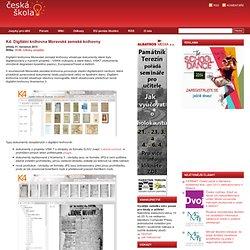 K4: Digitální knihovna Moravské zemské knihovny
