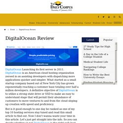 DigitalOcean Review - The Daily Campus