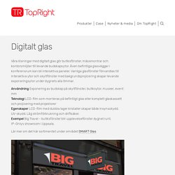Digitalt glas — Topright Nordic