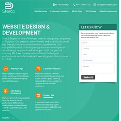 Sterco Digitex Leading Website Designing Company in Gurgaon