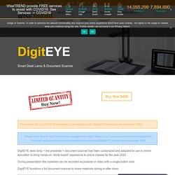 DigitEye Smart Desk Lamp & Fastest Document Scanner