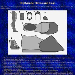 Digitgrade Legs and Hoves