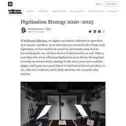 Digitisation Strategy 2020–2025 - Stacks