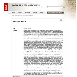 Digitised Manuscripts