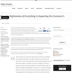 The Digitization of Everything: It's Impact on the Buyer's Journey and Marketing's Role