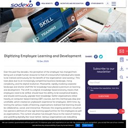 Digitizing Employee Learning and Development - Sodexo